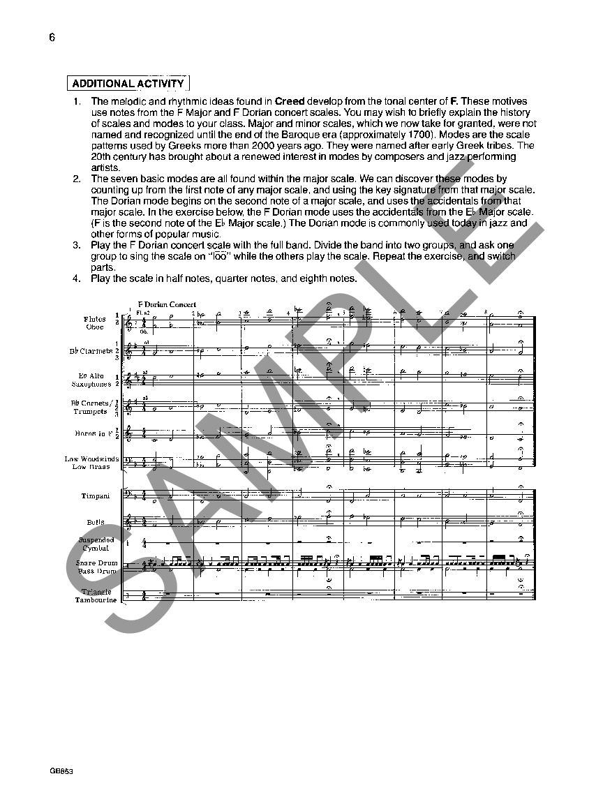 creed william himes score pdf