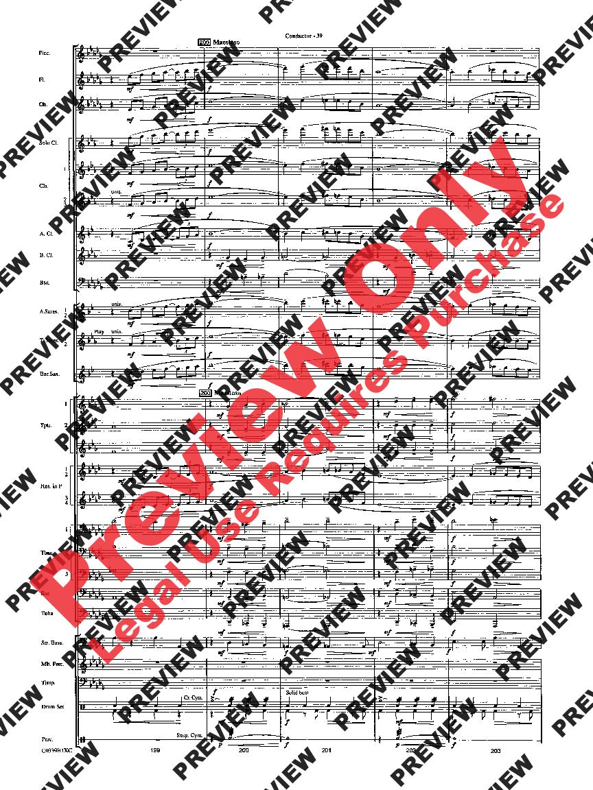 moonlight serenade big band score pdf