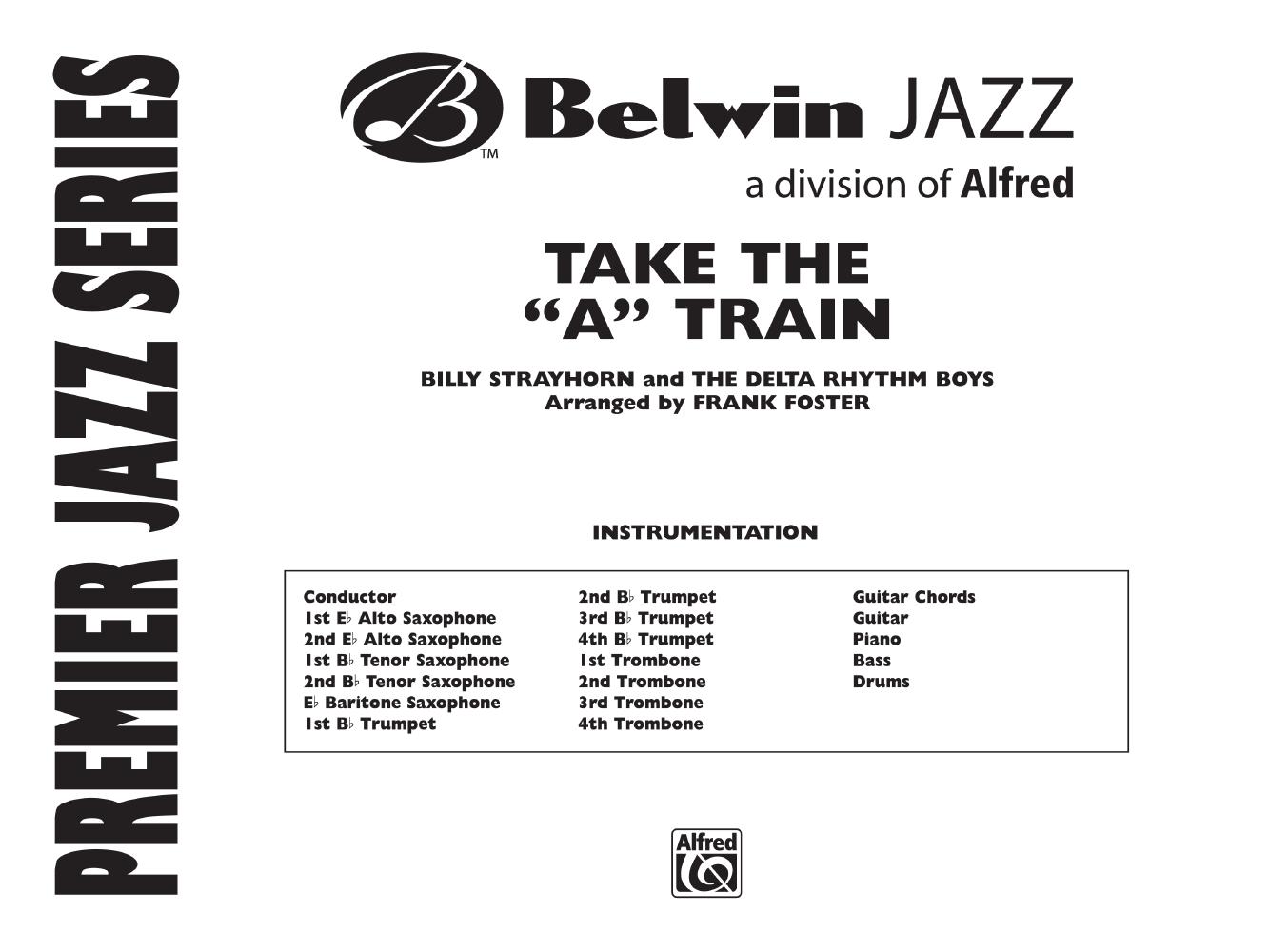 Take The A Train Additional Score By Bi Jw Pepper Sheet Music