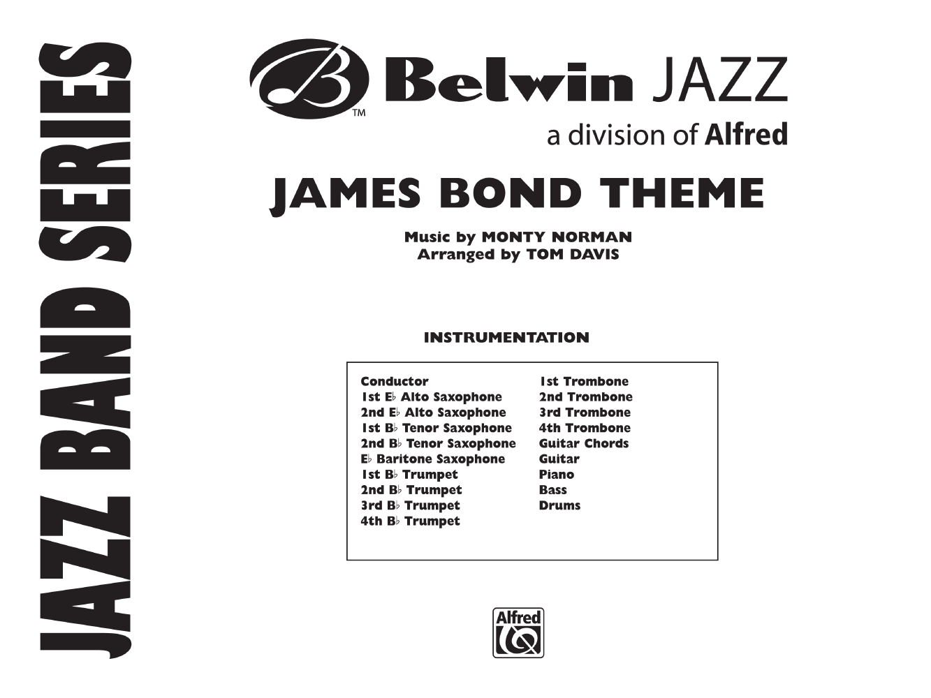 James Bond Theme By Monty Normanarr Tom Davis Jw Pepper Sheet Music