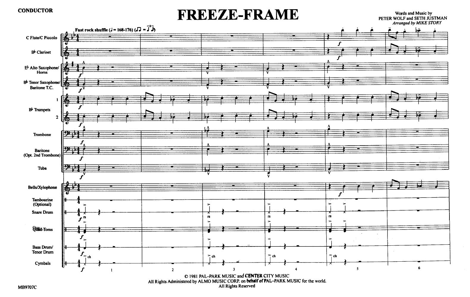 Freeze Frame by STORY, M| J.W. Pepper Sheet Music