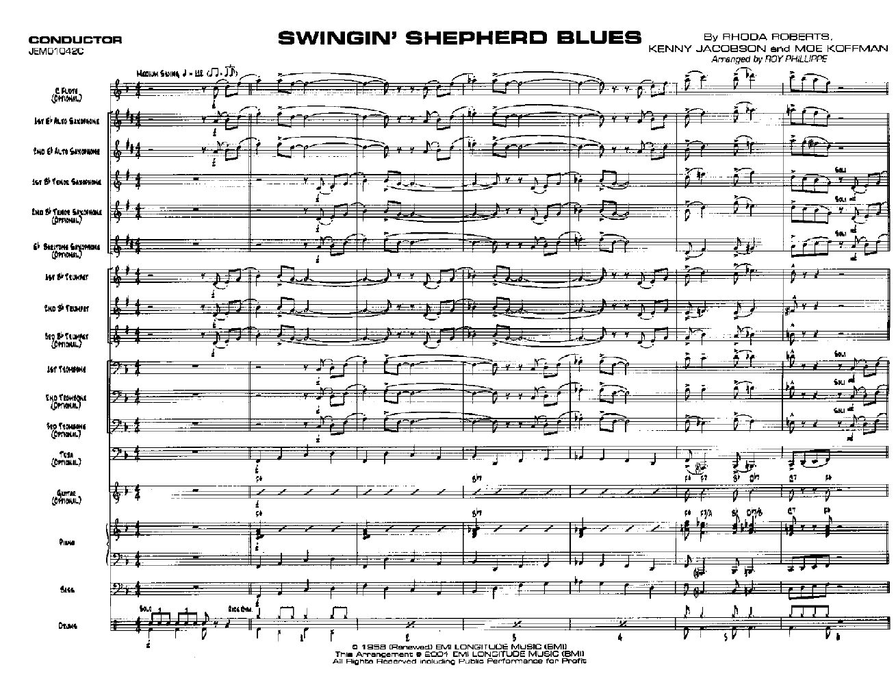 Swinging shepard blues