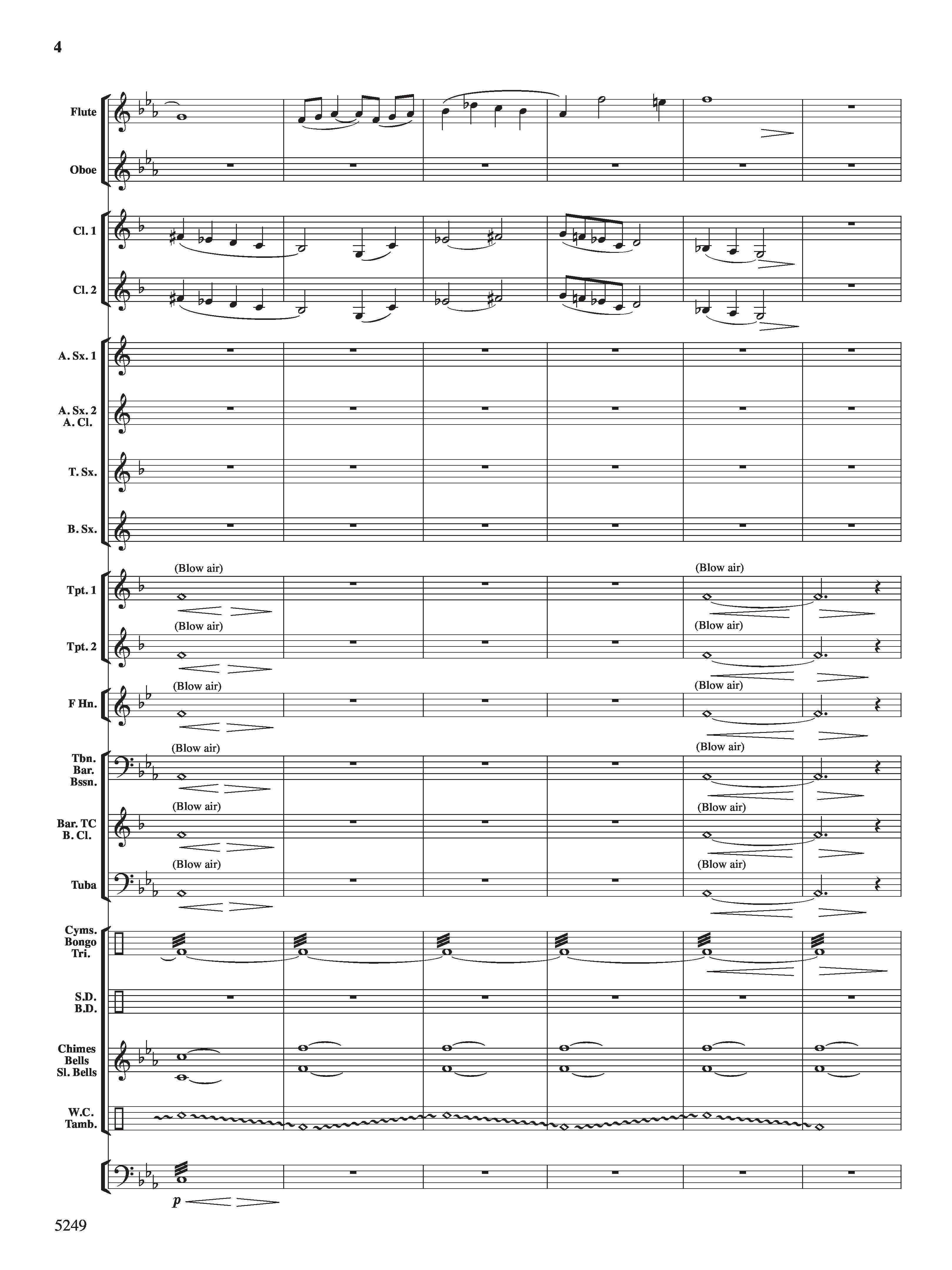 chant and tribal dance by david shaffer j w pepper sheet music