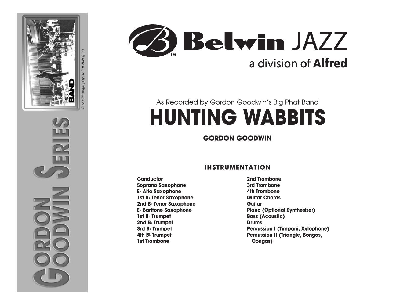 Hunting Wabbits Additional Score By Gordo Jw Pepper Sheet Music