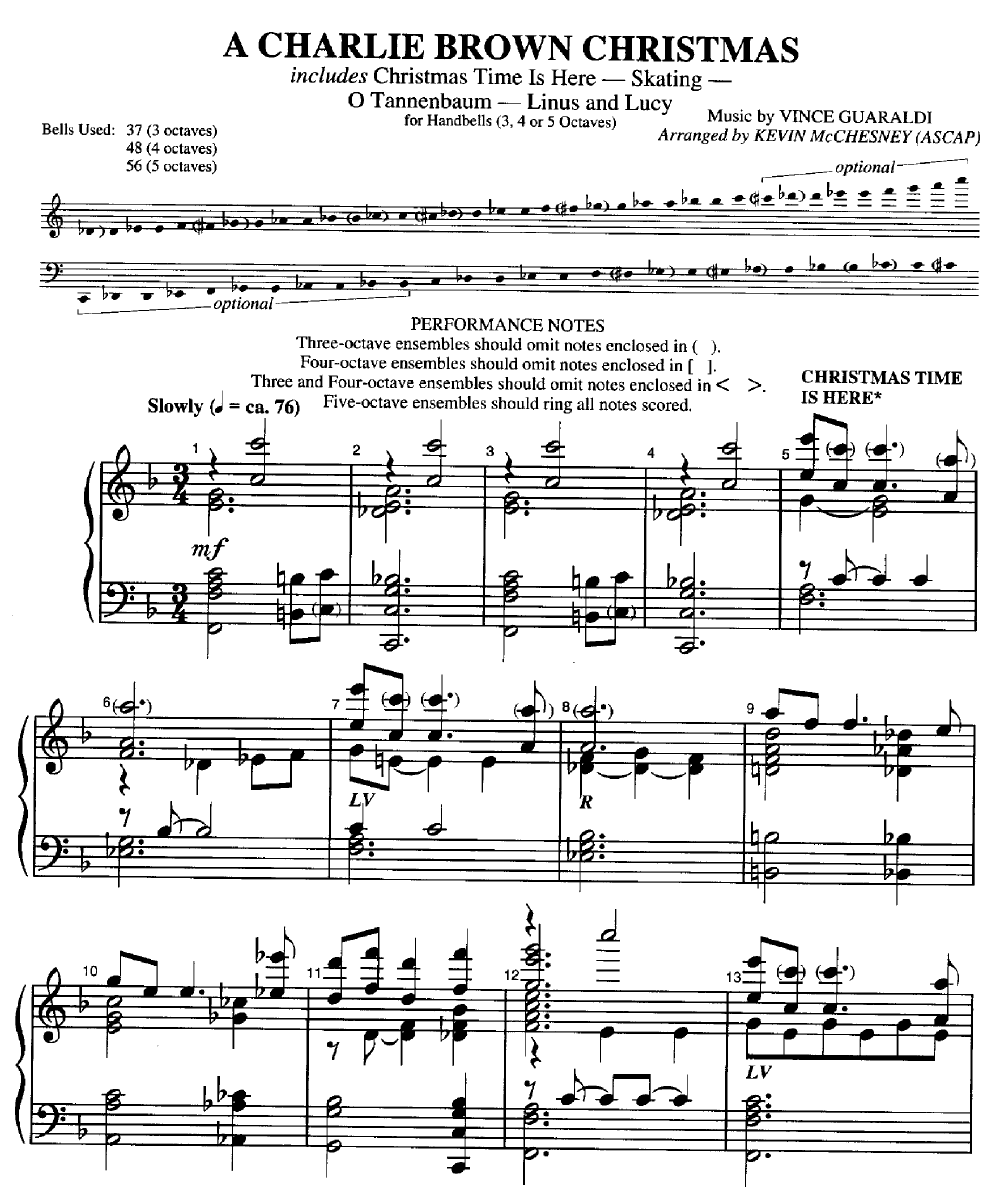 o tannenbaum sheet music vince guaraldi pdf