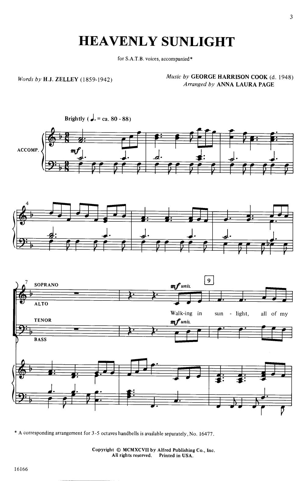 in the garden pepper pdf sheet music
