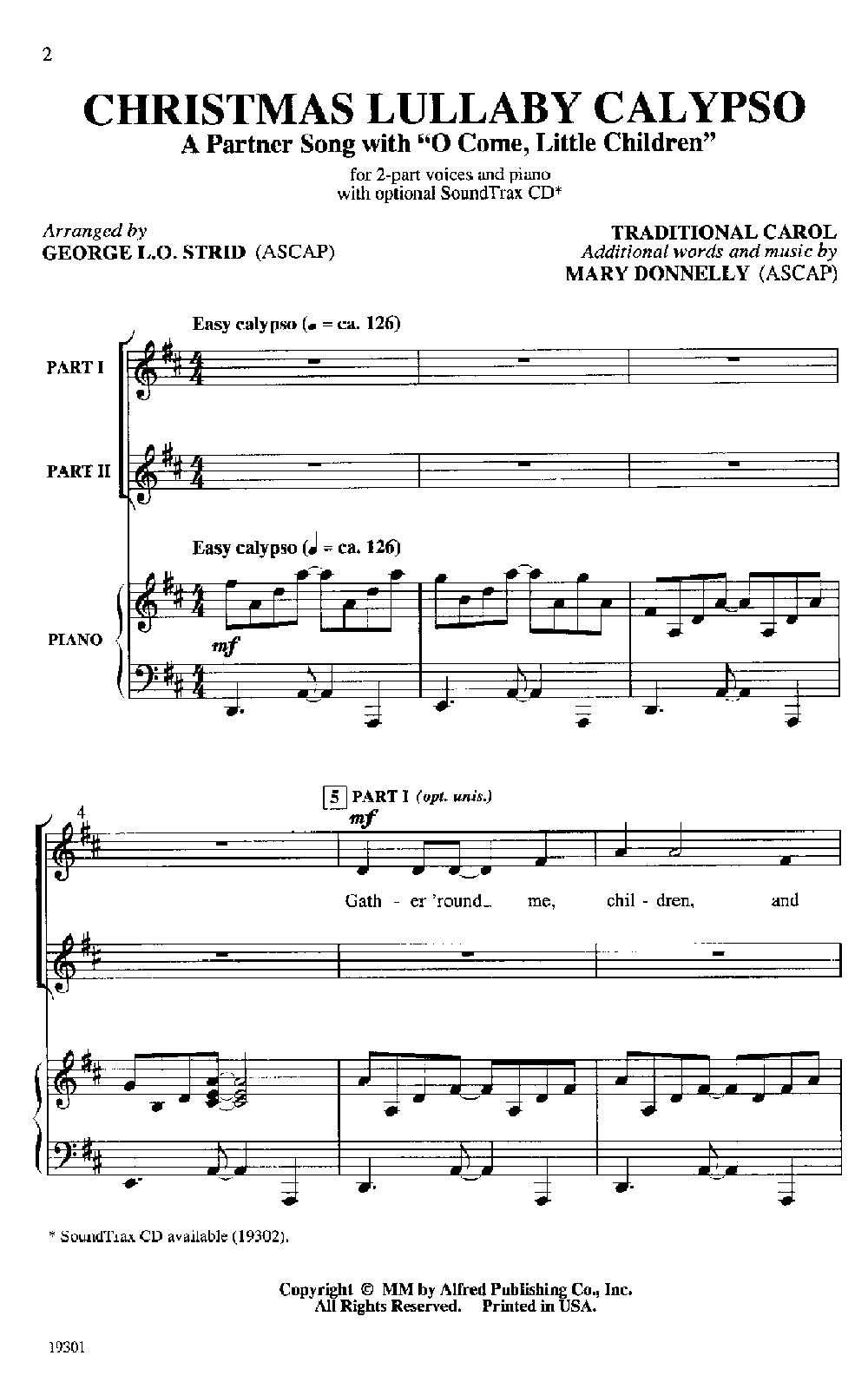 Christmas Lullaby John Rutter Sheet Music