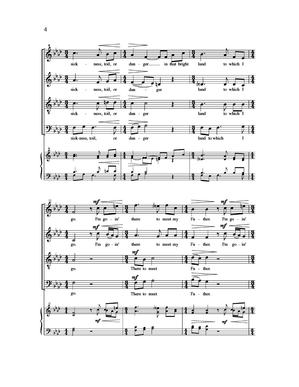 I Am A Poor Wayfaring Stranger Sheet Music Erkalnathandedecker