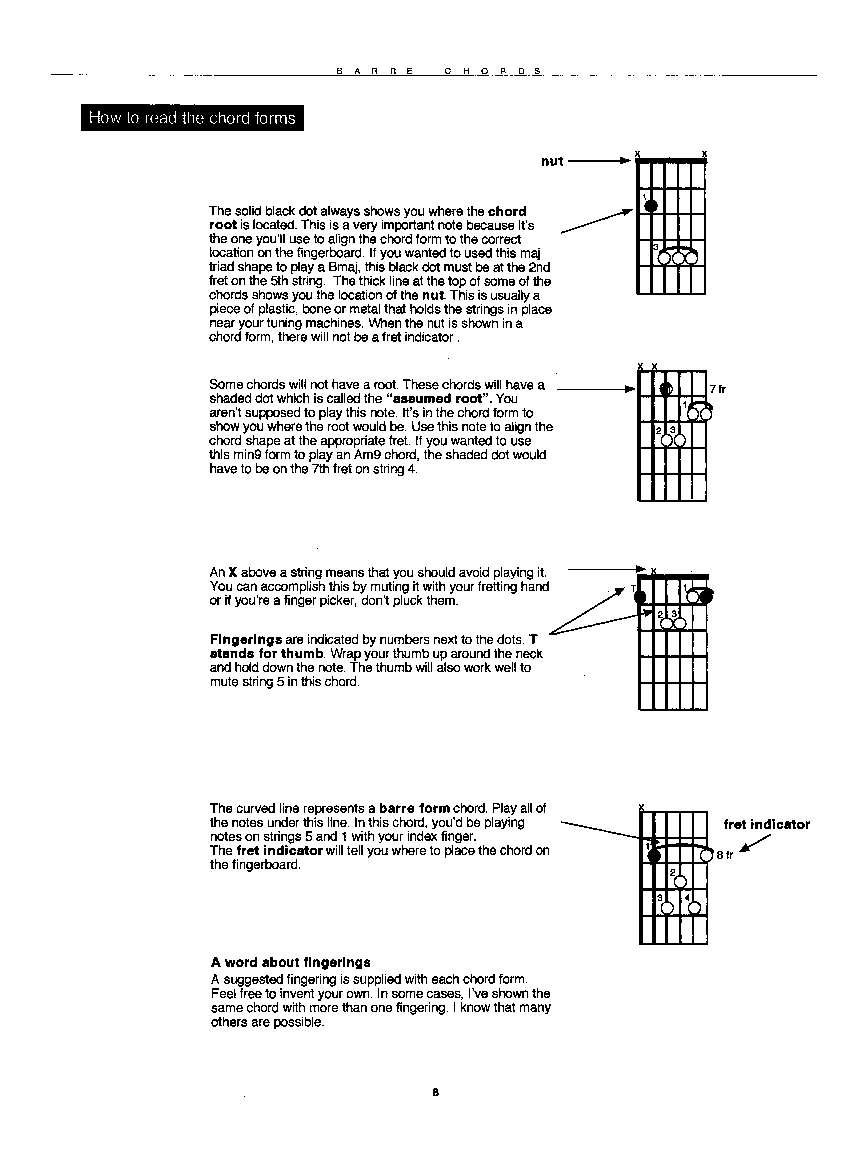 Barre Chords By Latarski D Ultimate Guitar Cho Jw Pepper
