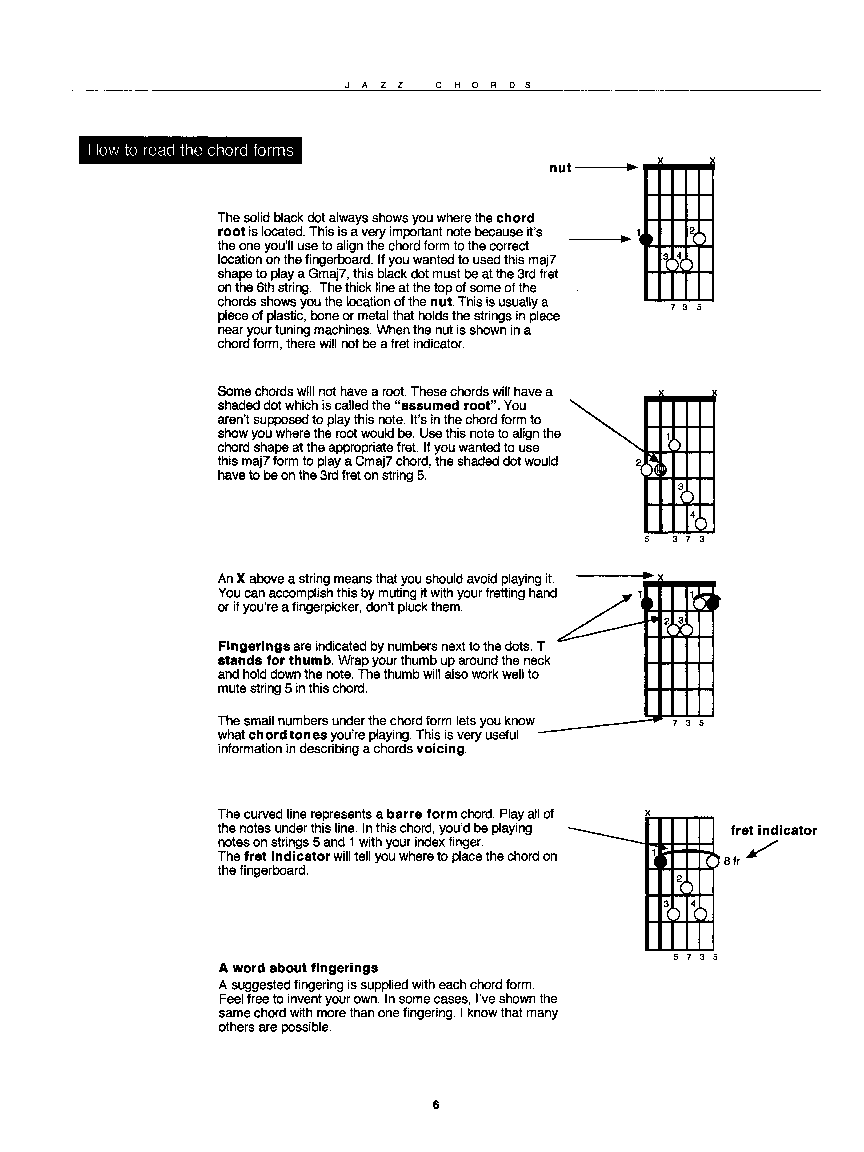 Jazz Chords By Latarski D Ultimate Guitar Chor Jw Pepper
