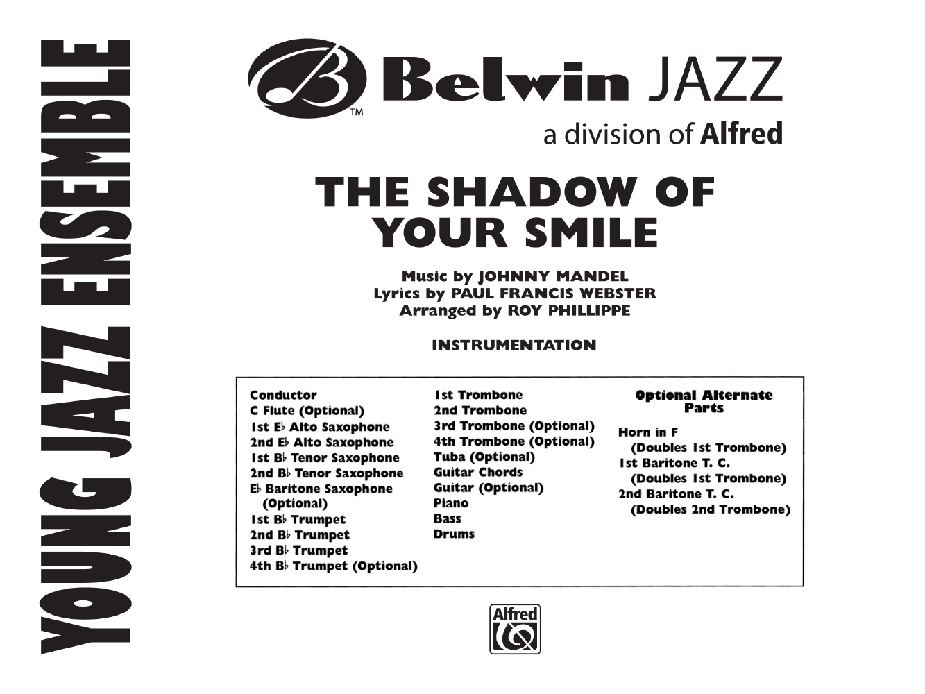The Shadow Of Your Smile Additional Score Jw Pepper Sheet Music
