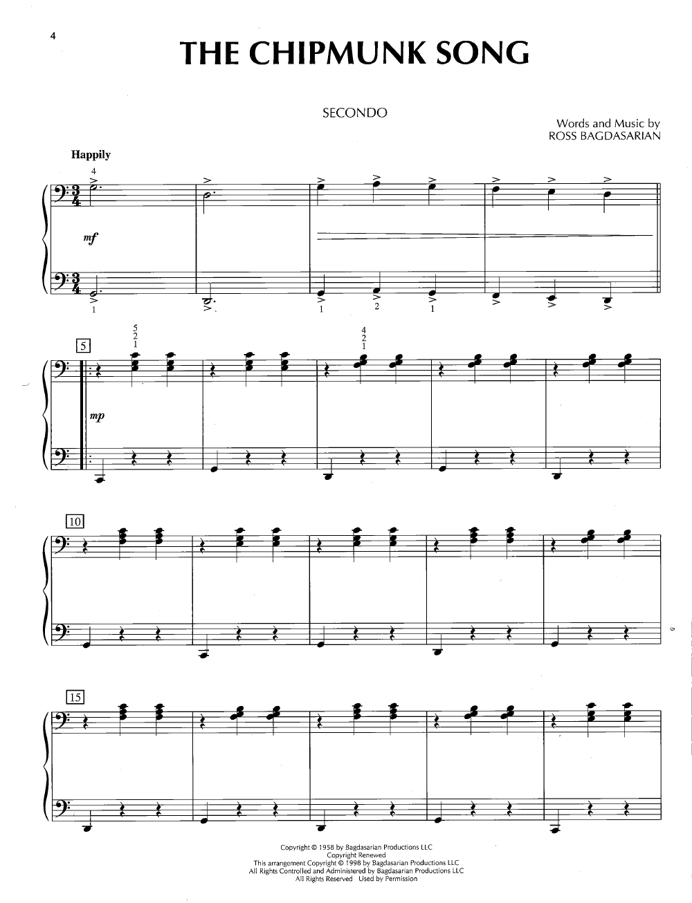 Christmas Piano Duets (1 Piano 4 Hands ) by | J.W. Pepper Sheet Music