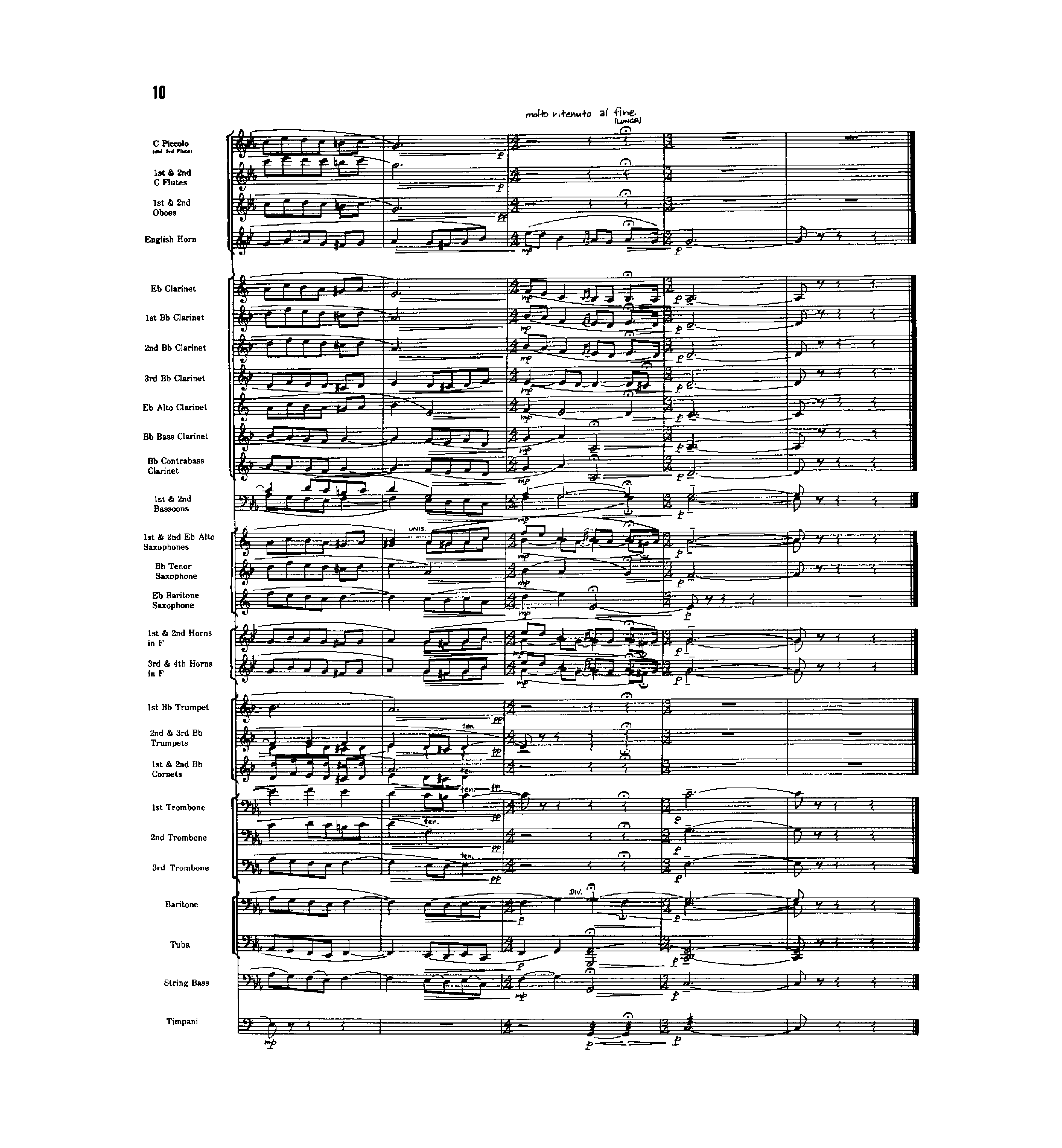 Come, Sweet Death By J. S. Bach/arr. Reed